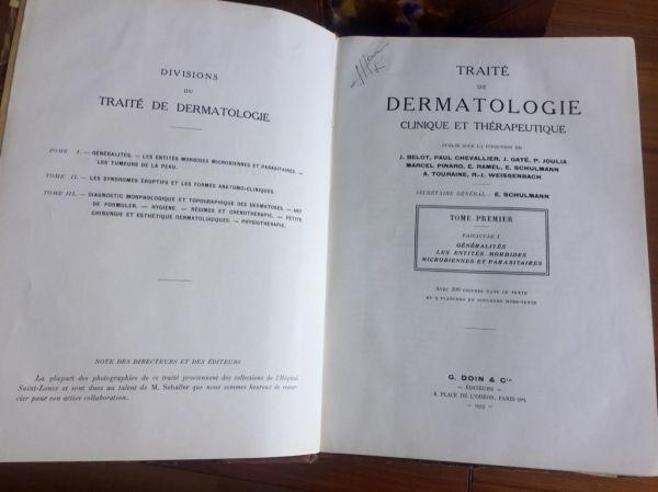 J. Belot. Tratado de dermatología Clínica y Terapeútica 2 tomos