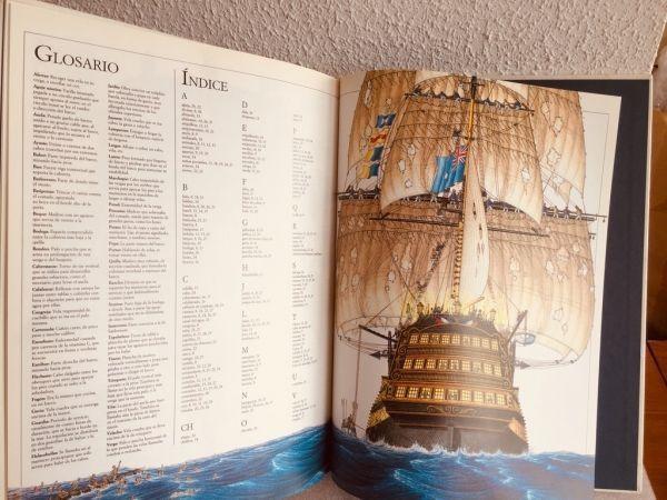 Un barco de guerra del siglo XVIII. Ilustración 2
