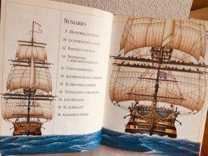 Un barco de guerra del siglo XVIII. Ilustración 1