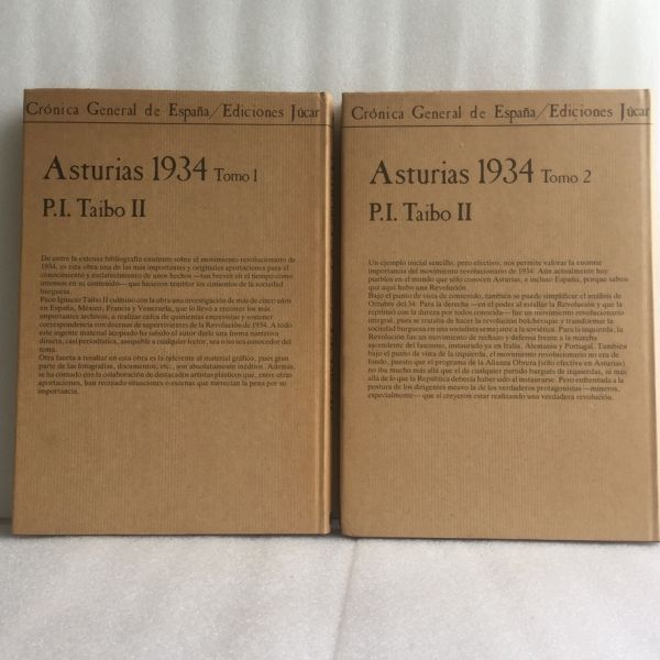 Asturias 1934. P.I. Taibo II - 1984