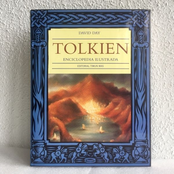 Tolkien enciclopedia Ilustrada. David Day. minotauro