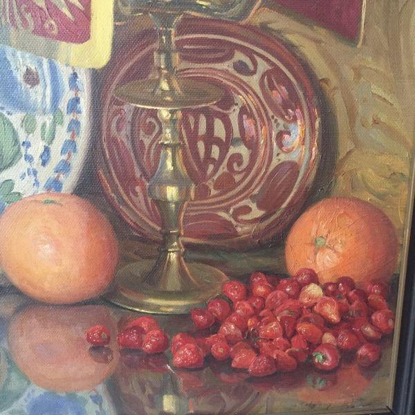 Vicente Paricio Bodegón Óleo sobre lienzo Vicente Paricio