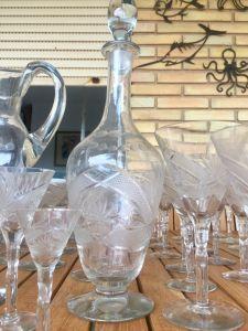 Antigua cristalería tallada 5