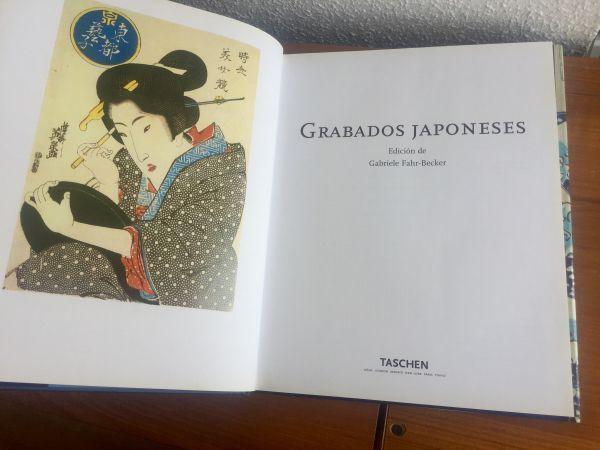 Grabados japoneses, Gabriele Fahr-Becke Ilustración
