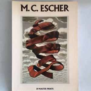 M.C. Escher 29 Master Prints. Abrams 1983