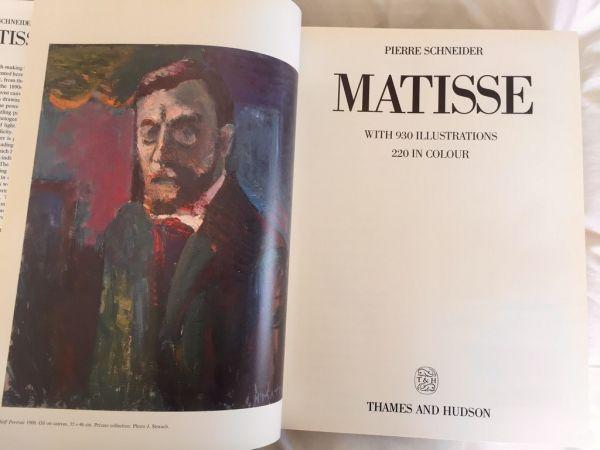 Matisse, Pierre Schneider 1984