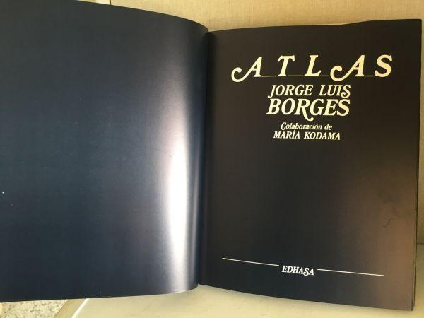 Atlas Jorge Luis Borges 1986