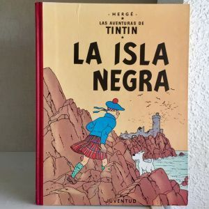 Tintín La Isla Negra. Edición Especial 1986