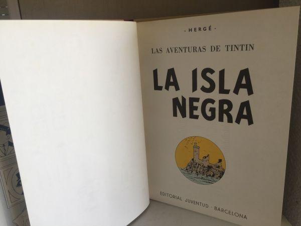 Tintín La Isla Negra. 1986