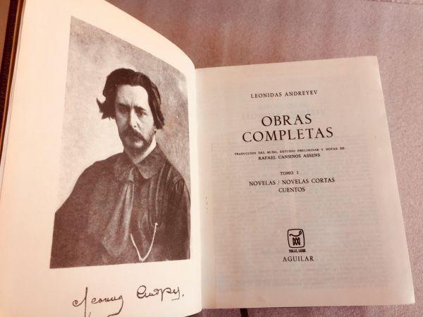 Leonidas Andreyev Obras completas Tomo I