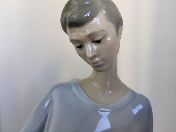 Cabeza figura de porcelana Lladró
