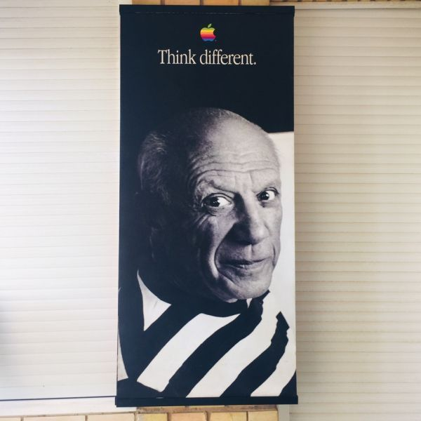 Picasso Think Different Apple