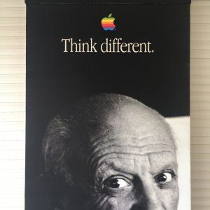 Picasso Think Different Apple 1988
