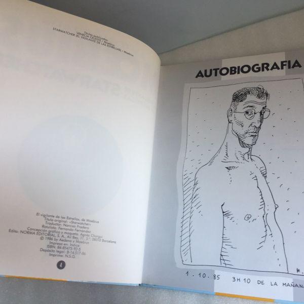 Autobiografía, El vigilante de las estrellas