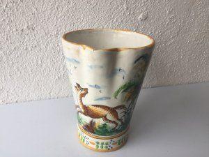 Jarra de cerámica Manises. Vicente Gimeno