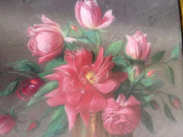Bodegón de Vicente Paricio con rosas