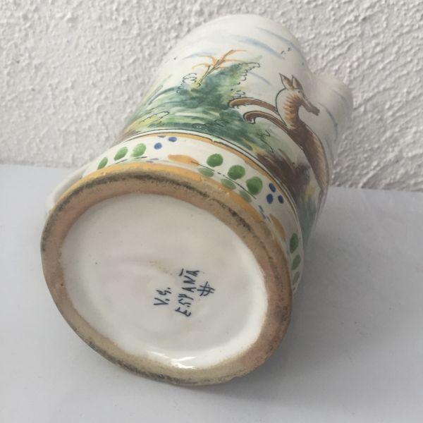 Jarra de cerámica de Manises, Vicente Gimeno