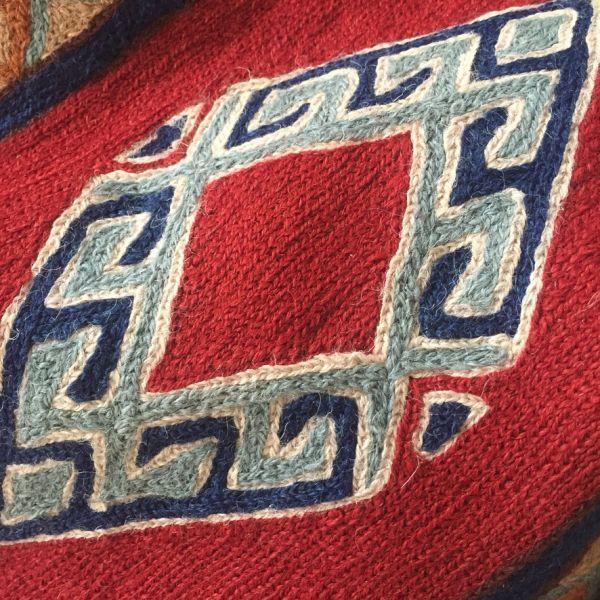 Alfombra hecha a mano de Tariq Katwari, Kashmir