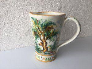 Jarra de cerámica Manises alfar Vicente Gimeno años 20
