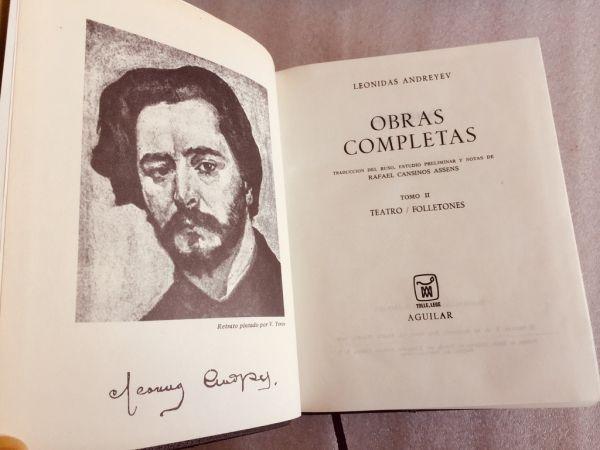 Leonidas Andreyev Obras completas Tomo II