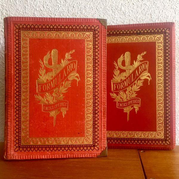 Formulario Enciclopédico de Medicina, Farmacia y Veterinaria I y III 1889