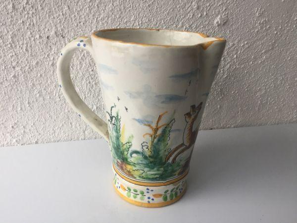 Jarra de cerámica Manises, V. Gimeno años 20