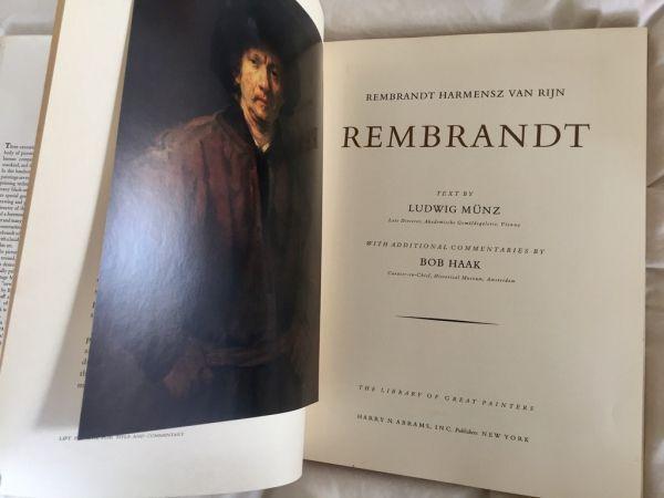 Rembrandt Text by Ludwig Münz. 108 láminas