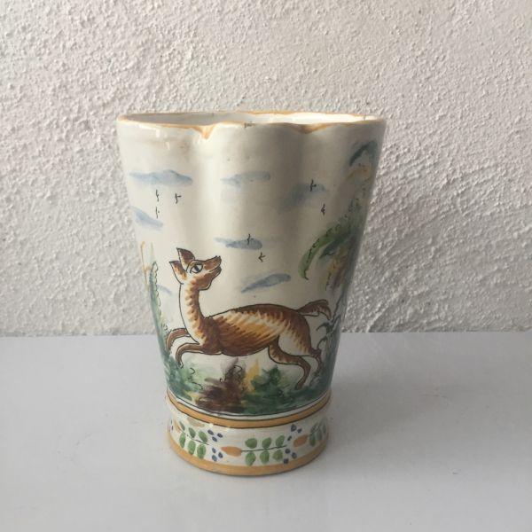 Jarra de cerámica Manises Vicente Gimeno