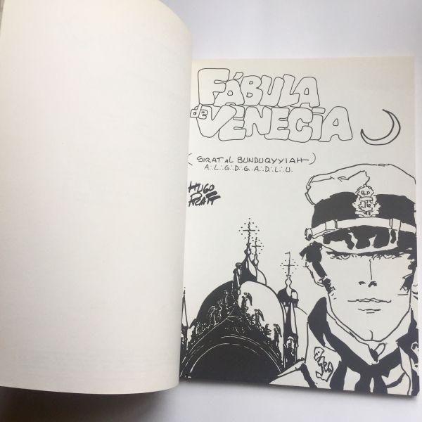 Fábula de Venecia, Hugo Pratt