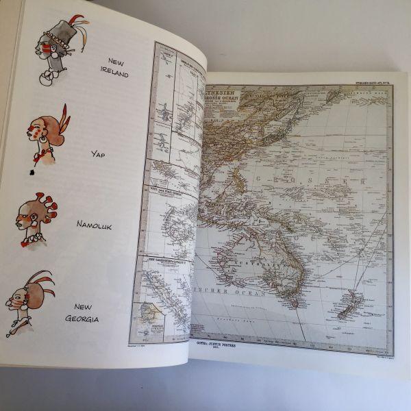 La Balada del Mar Salado mapa